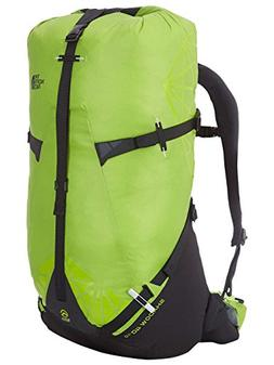 The North Face Shadow 40 Plus 10 Hiking Backpack Macaw Green