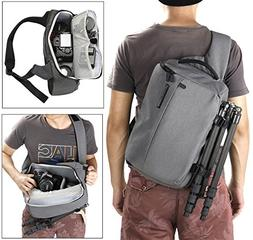 Finnkare Digital Shoulder Camera Backpack for DSLR & Mirrorl