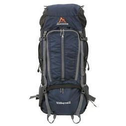 MISSION PEAK GEAR Sierra 4800 70L Internal Frame Hiking Back