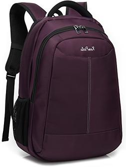 Slim Business Laptop Backpacks Water Resistant Travel Bag fi