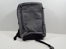 Slim Carry On Laptop Travel Overnight Backpack - Grey
