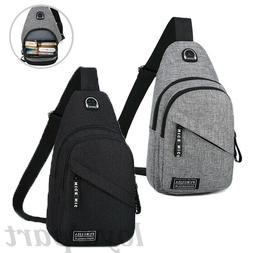 Sling Bag Chest Bag Sports Travel Backpack Cross Body Handba