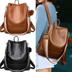 Soft Leather Tote Shoulder Bag Anti Theft Ladies Stylish Day
