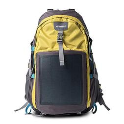 HANERGY Solar Charging Hiking Camping Backpack with Built-in