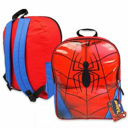 spider man 15 inch backpack red