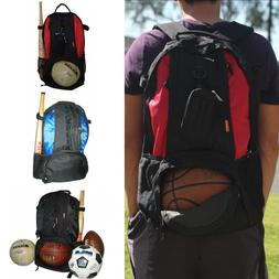 Sport Backpack Red Blue Black Fit Basketball Football Volley