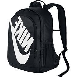 NIKE Sportswear Hayward Futura Backpack, Black/Black/White,