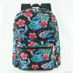 stitch backpack large allover print with front