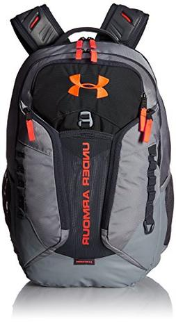 Under Armour Storm Contender Backpack,Steel /Magma Orange, O