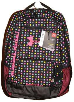 Under Armour Storm Hustle II Backpack #1263964  Pink Black P
