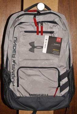 Under Armour Storm Hustle II Backpack #1263964  White and Gr