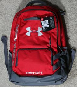 Under Armour Storm UA Team Hustle Water Resistant Red/Gray B