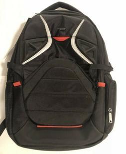 Targus Strike Gaming Backpack for 17.3-Inch Laptops, Black/R