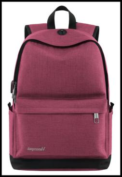 Student Backpack For Women College High School Laptop W Char