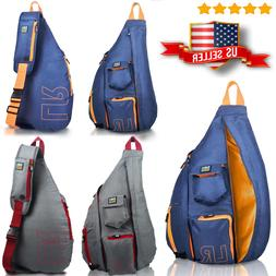 Stylish Hiking Messenger Travel Chest Pack Backpack Shoulder