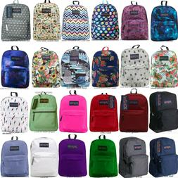 JANSPORT SUPERBREAK BACKPACK 100% AUTHENTIC SCHOOL BAG,BLACK