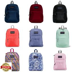 JANSPORT SUPERBREAK BACKPACK 100% AUTHENTIC SCHOOL BAG, BLAC