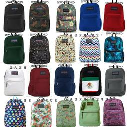 JANSPORT SUPERBREAK,CROSS TOWN BACKPACK 100% AUTHENTIC SCHOO