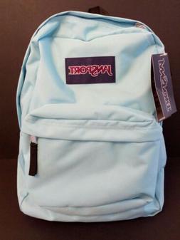 Jansport Superbreak Backpack Blue Topaz 100% AUTHENTIC Schoo