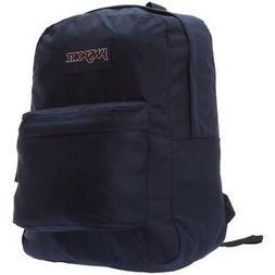 Jansport Superbreak Backpack Navy Blue JS00T501003 New With