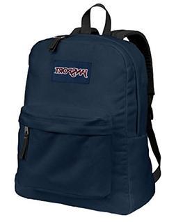 JANSPORT SUPERBREAK BACKPACK SCHOOL BAG - Navy Blue