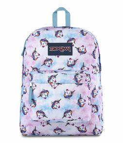 JanSport Superbreak Backpack Unicorn Clouds
