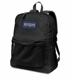 Jansport Superbreak Black School BackPack 100% Authentic Lif