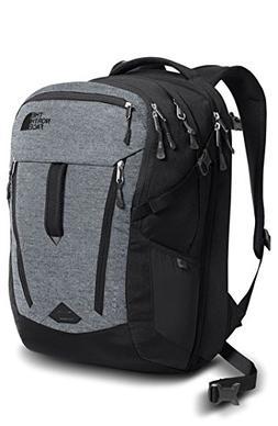 The North Face Surge Backpack - Mid Grey-Asphalt Grey Melang