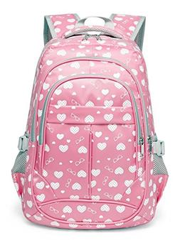 Sweetheart Backpack for Girls Children Kids Schoolbag Pink