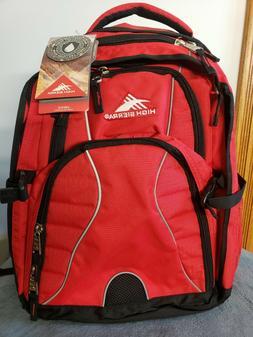 "High Sierra Swerve Laptop Backpack 17""  School Or College Ba"