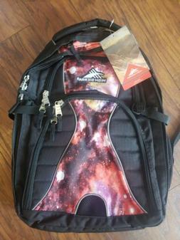 High Sierra Swerve Laptop Backpack, Black/Space Age