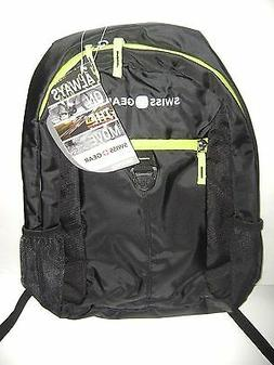 Swiss Gear Back-Pack For Back To School - Book Bag - Black &