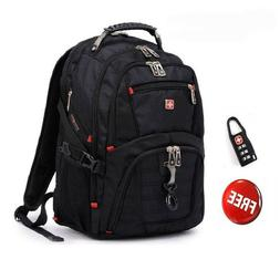 Swiss gear Waterproof Travel Bag Laptop Backpack Computer No
