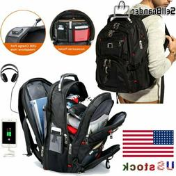 Swiss Multifunctional 15.6''Laptop Backpack Travel Camping U