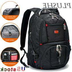swiss multifunctional waterproof 17 laptop backpack usb