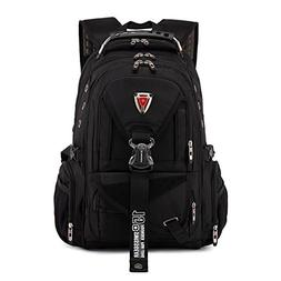 "Quality Swiss Rucksack large size 17"" Laptop Man Travel Back"