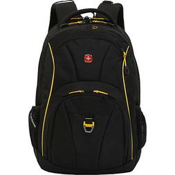 "SwissGear 18.5"" Backpack Black Cod/ Gold"