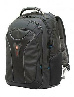 Swiss Gear Carbon II Black Notebook Backpack-Fits Apple Macb