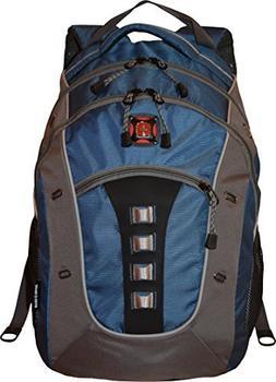 SwissGear Granite Double Gusset 16 Padded Laptop Backpack Ne