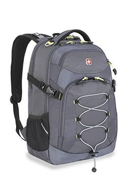 Swiss Gear SA5960 Gray Laptop Backpack - Fits Most 15 Inch L
