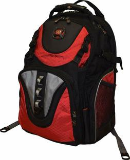 "Swissgear® Maxxum Double Zipper Backpack With 16"" Laptop Po"
