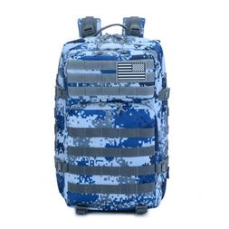 Tactical Backpack - Camouflage - Sports, Security, Cycling,
