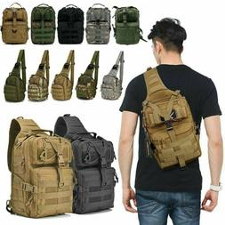 tactical backpack military shoulder crossbody bag hiking