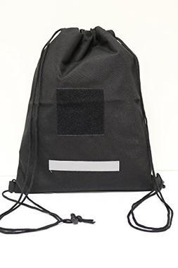 ARMYCAMOUSA Tactical Heavy Duty Drawstring Backpack Army Mil