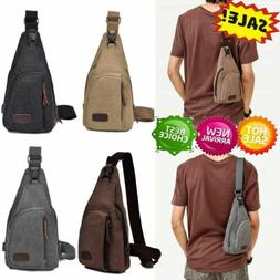 Tactical Outdoor Chest Bag Backpack Shoulder Military Campin