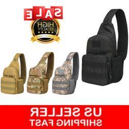 Tactical Sling Bag Military Backpack Pack Small Shoulder Sli