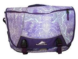 High Sierra Tank Messenger Laptop Bag, Purple Snake Dye, 182