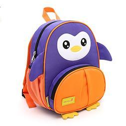 Toddler Backpack,Animal Cartoon Mini Plush Harness Backpac