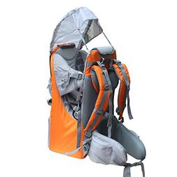New Baby Toddler Hiking Backpack Carrier Stand Child Kid Sun