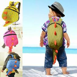 Toddler Kids Child Dinosaur Backpack Schoolbag Shoulder Bag